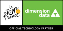 tour de france dimension data logo
