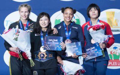 Lutte – Championnat du monde – Koumba Larroque dans le Top 3 mondial à tout juste 19 ans!