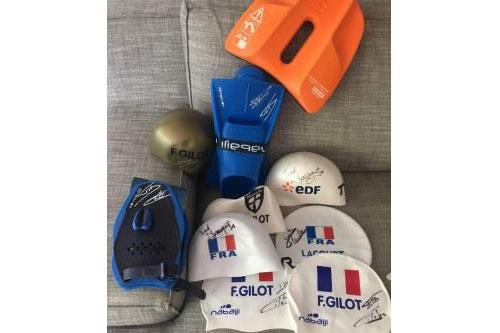 Pour son lancement, Desporteo se jette a l'eau avec Florent Manaudou, Camille Lacourt, Fabien Gilot et Frederick Bousquet !
