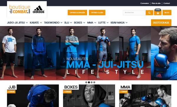 Boutique du combat : La boutique spécialisée dans les sports de combat
