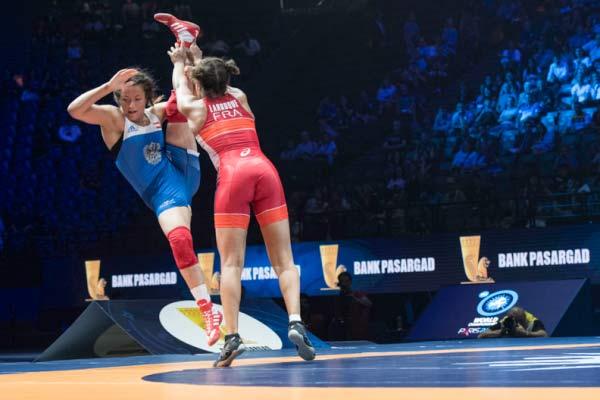 Championnat du monde de lutte